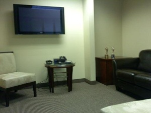 New Reception Area with our Telly's