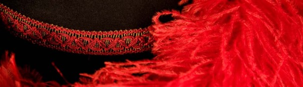 Hat red trim