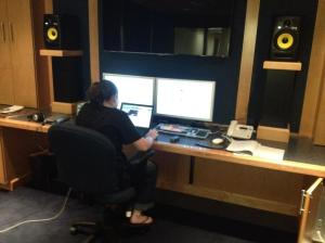 Jill sound designing in DBP edit suite