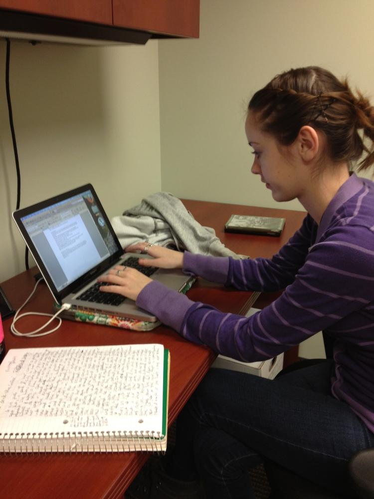 Amanda Whalen Starts Internship at DeBergerac Productions (2/2)